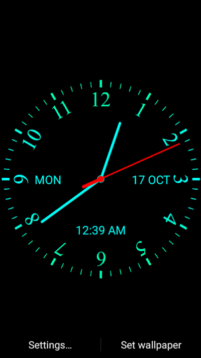 Analog Clock Live Wallpaper - Android Apps on Google Play