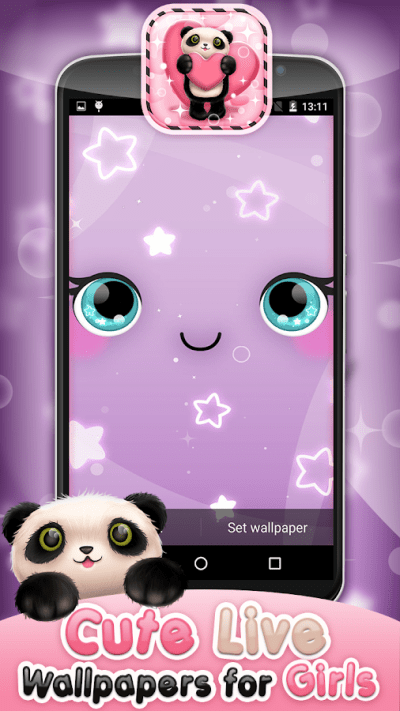 Cute Live Wallpapers for Girls - Android Apps on Google Play