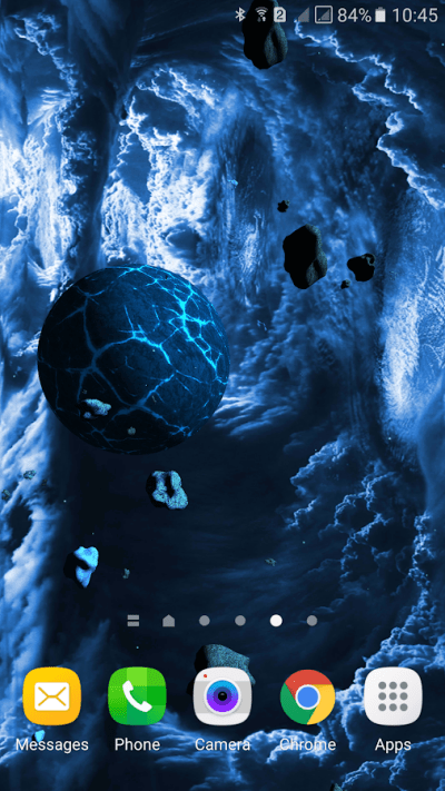 Asteroids 3D live wallpaper - Android Apps on Google Play