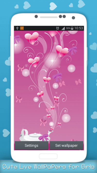 Cute Live Wallpapers for Girls - Android Apps on Google Play