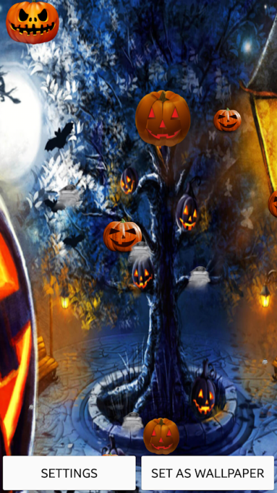 Halloween Live Wallpaper - Android Apps on Google Play