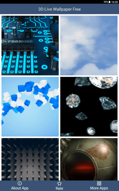 3D Live Wallpaper Free - Android Apps on Google Play