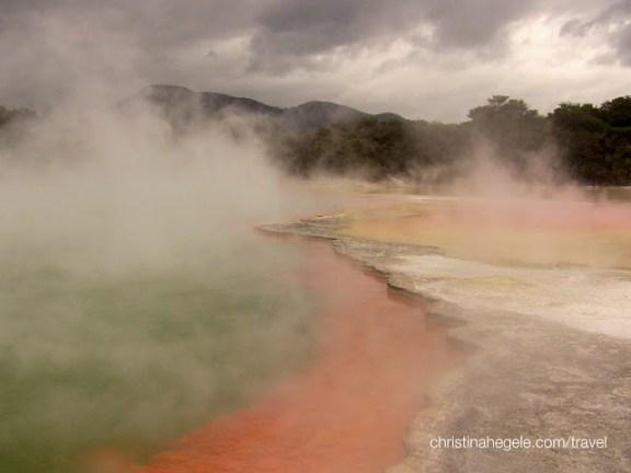 Rotorua Waiotapu Geothermal Wonderland