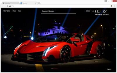 Lamborghini Super Cars HD Wallpapers New Tab - Chrome Web Store