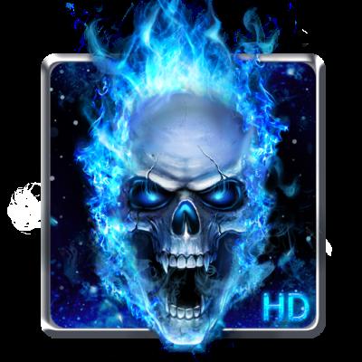 Download Blue Skull Live Wallpaper Google Play softwares - aKL3LWpF5Zfv | mobile9