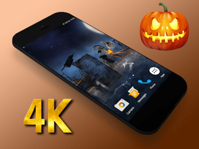 Halloween 3D Live Wallpaper Mod Apk - apkmodfree.com