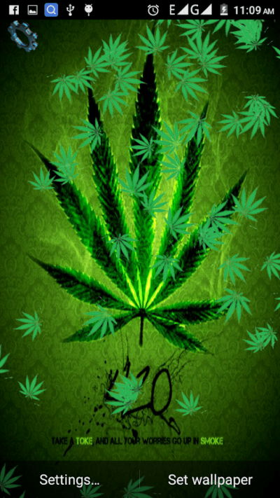 Love Weed Live Wallpaper - Android Apps on Google Play