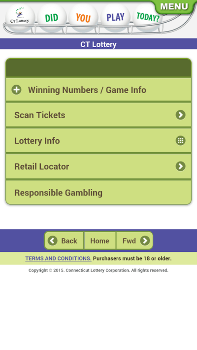 CT Lottery - Android Apps on Google Play