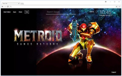 Metroid Wallpapers HD New Tab Themes - Free Addons