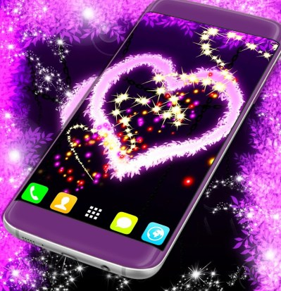 Pink Heart Live Wallpaper - Android Apps on Google Play