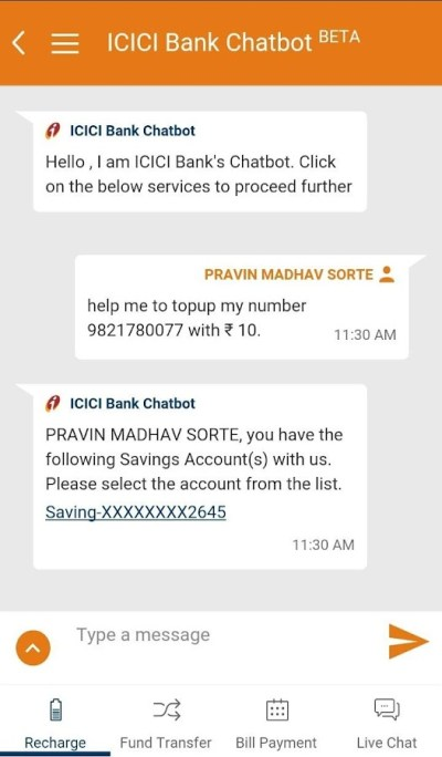 iMobile by ICICI Bank - Android Apps on Google Play