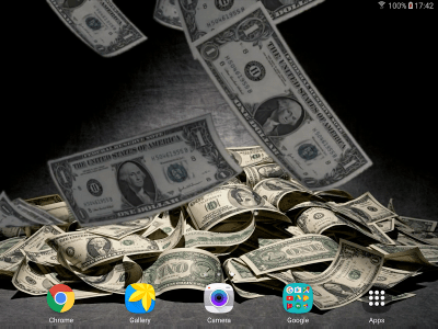 Falling Money Live Wallpaper - Android Apps on Google Play