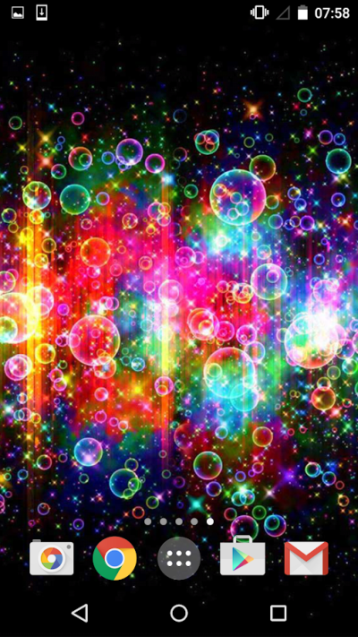 Neon Bubbles Live Wallpaper - Android Apps on Google Play