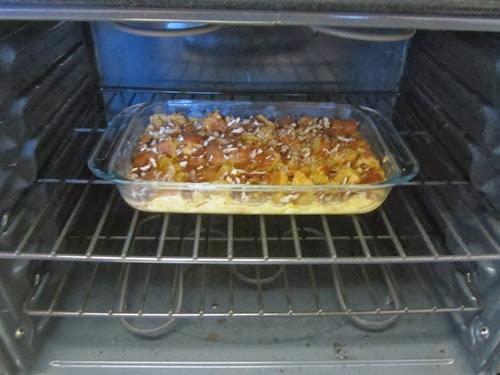 pumpkin brioche bread pudding 016