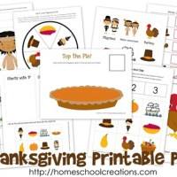 Thanksgiving Printable Pack ~ Free Printables!!