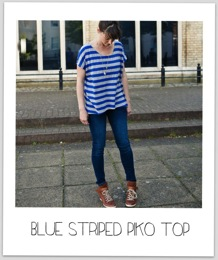 Blue Striped Piko 14