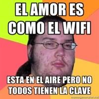 El amor es como el Wi-Fi