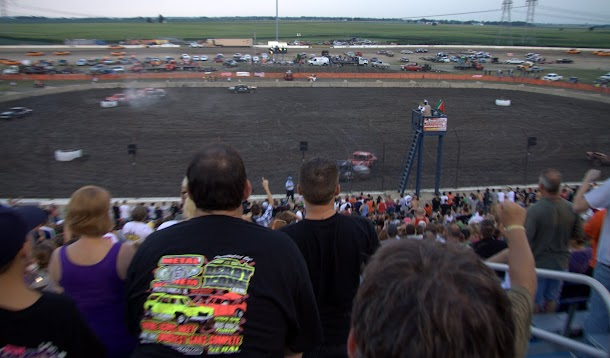 Demolition Derby at Route 66 Raceway