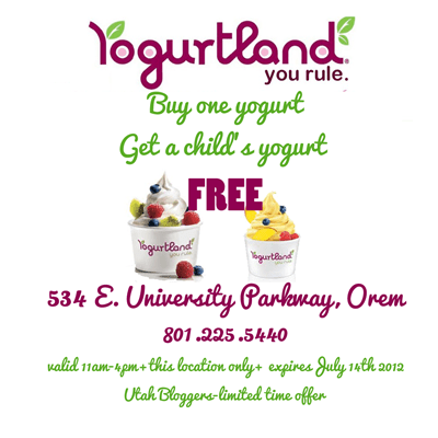 Yogurtland-Orem-Utah-Coupon