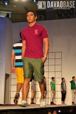 Casual wear during the Mensweek Fashion Show at Abreeza