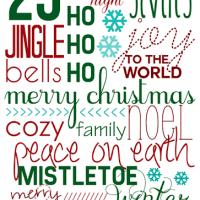 Free Christmas Printable for YOU!