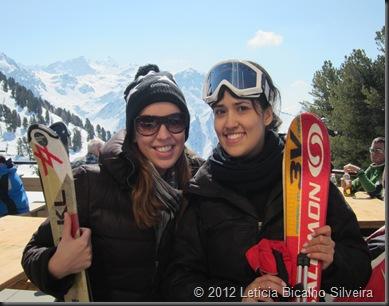 Ski nos Alpes Suiços