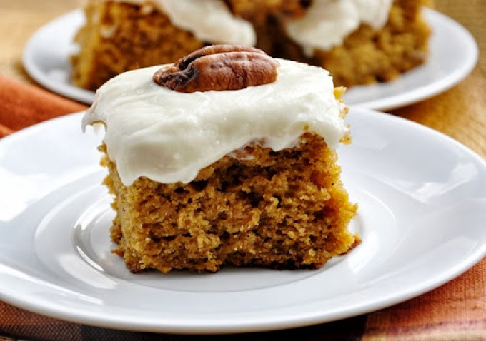 pumpkin cake bars reduced-fat 076