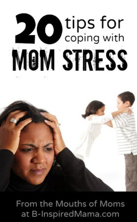 Coping with Stress for Moms