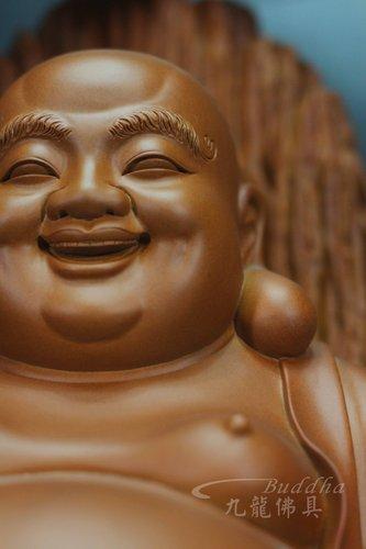 佛像木雕 【弥勒下生凡界继承如来】梢楠木精雕弥勒