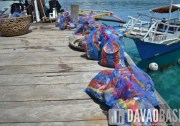 Trash found underwater in Talicud. Thanks to Davao Reef Divers Club for cleaning this up!