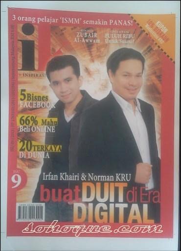 cover majalah ik yang membincangkan tentang kru masterclass