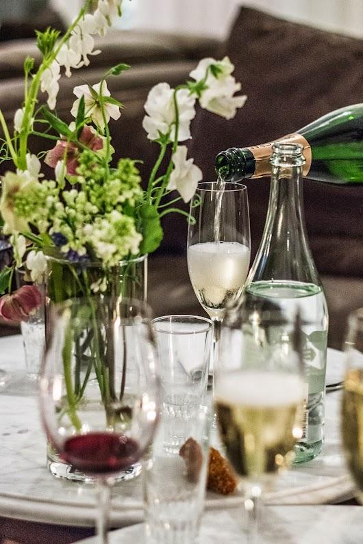Champagne - The lobby på kurhotel skodsborg - Mikkel Baekgaards Madblog
