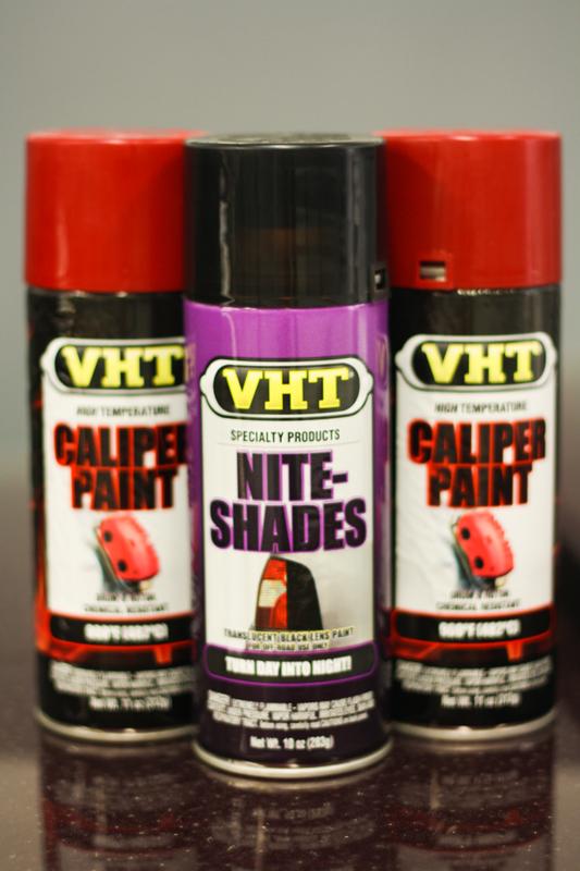 VHT Caliper Paint and VHT Niteshades