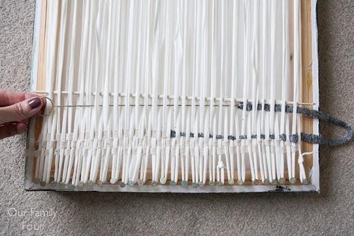 Ideal  Woven Fabric Scrap Wall Art