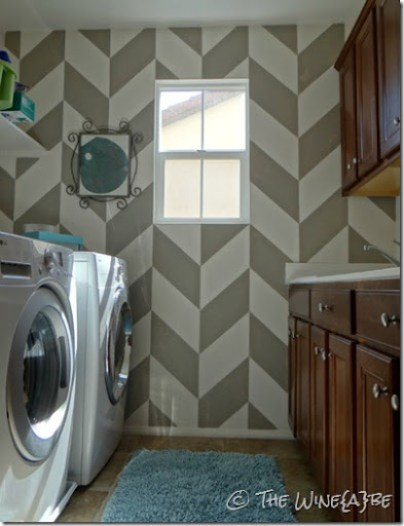 herringbone_wall_pattern_laundry_room