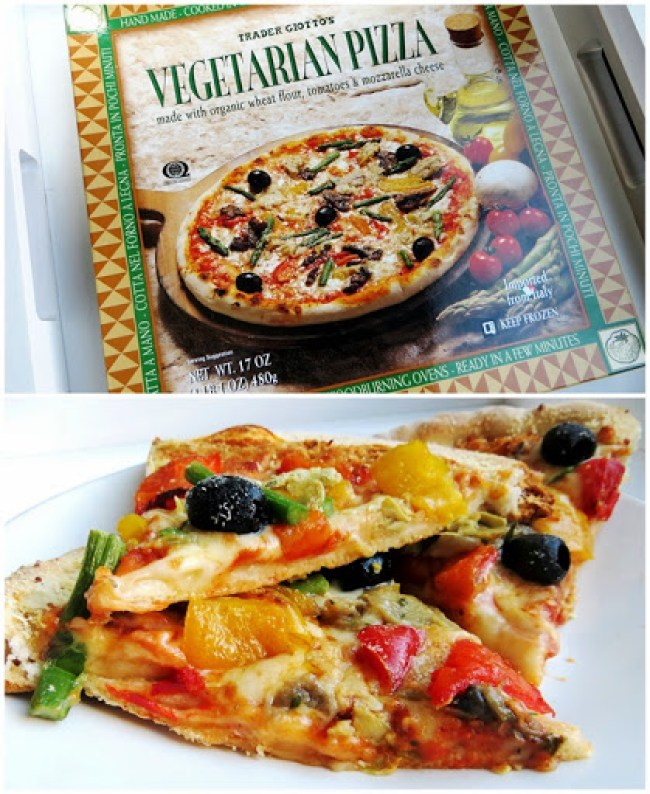 Trader Giotto's Vegetarian Pizza