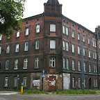 A building in dire need of repairs is not an uncommon view throughout Upper Silesia region.