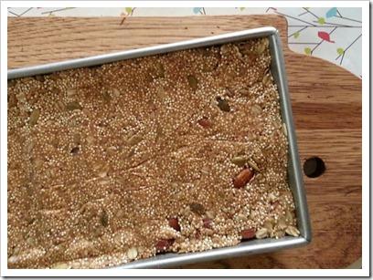 Almond Quinoa Bars