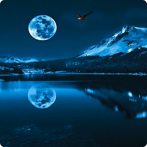Blue Moon Live Wallpaper HD - Android Apps on Google Play