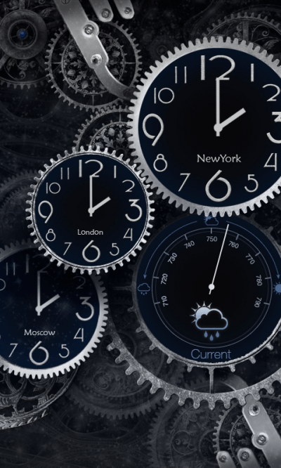 Black Clock Live Wallpaper HD - Android Apps on Google Play