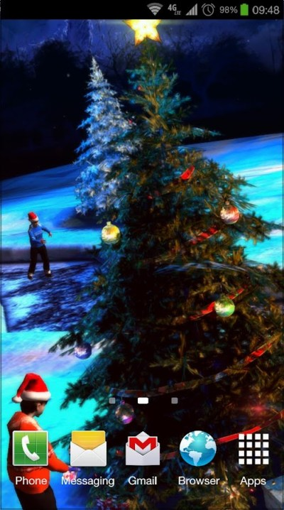Christmas 3D Live Wallpaper - Android Apps on Google Play