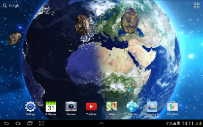 HD Space Live Wallpaper - Android Apps on Google Play
