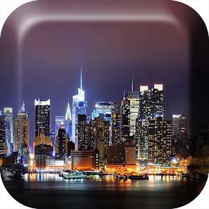 City at Night Live Wallpaper APK for Blackberry | Download ...