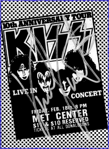 KISS Creatures of the Night Concert Ad