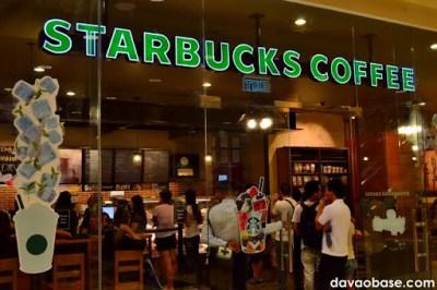 Starbucks Coffee in Abreeza Mall, Davao City