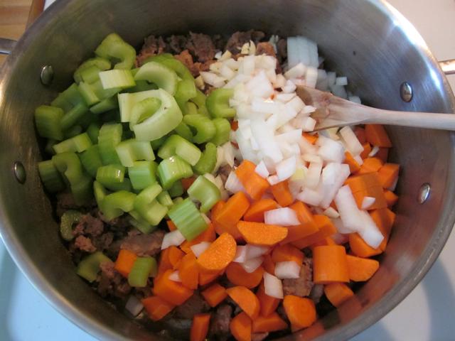 celery carrot onion
