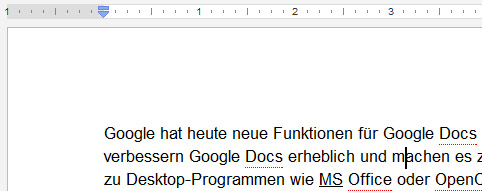 Alleine der Cursor, das Lineal und der Text sind in JavaScript -&gt; HTML