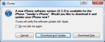 Apple Released iOS 4.3.2 for iPhone 4, 3GS, iPod Touch 4G, 3G, iPad 1 & 2