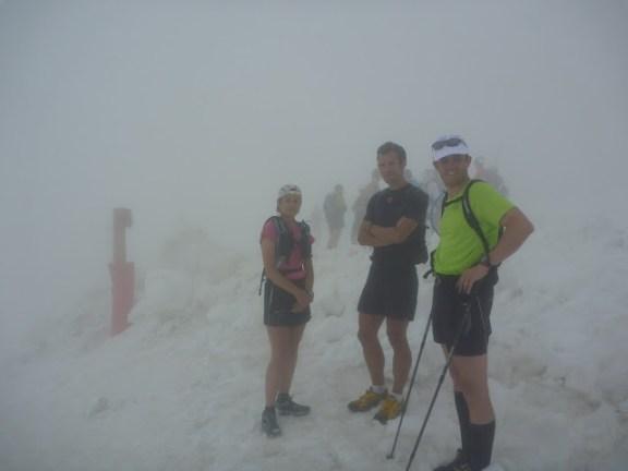 Un Trail Blanc ... en juillet !