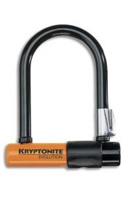 """Kryptonite Mini - $100 - The messenger's choice world wide. Small size (3.25"""" x 5""""). Fits in a back pocket, harder to lever open."""